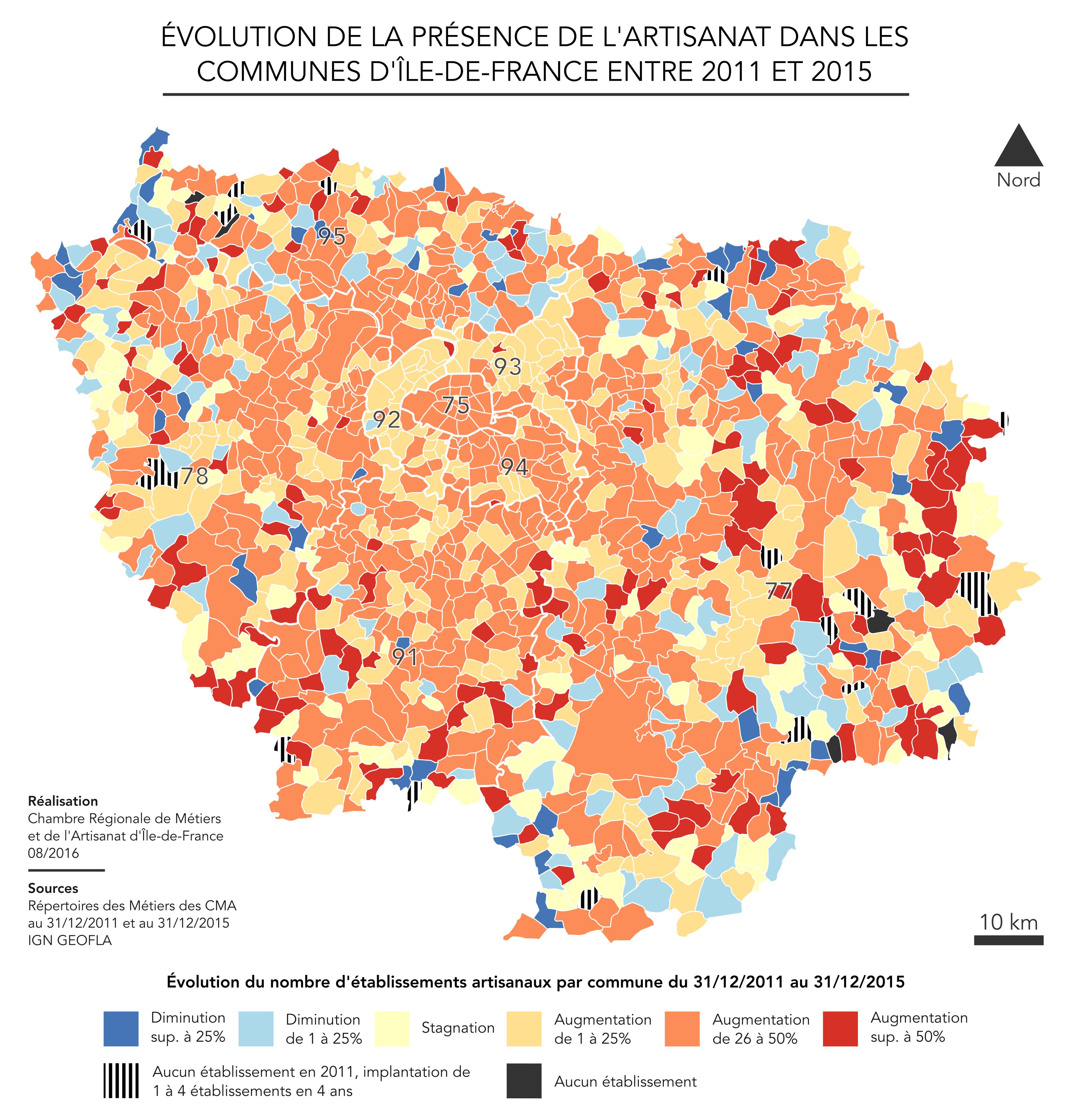 Cartoth¨que Chambres de Métiers et de l artisanat Ile de France